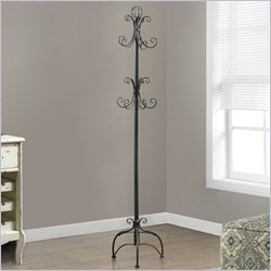 Coat Rack in Chocolate Brown