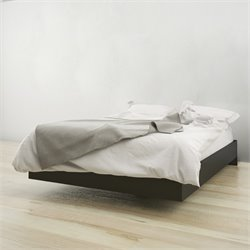 Full Platform Bed in Black