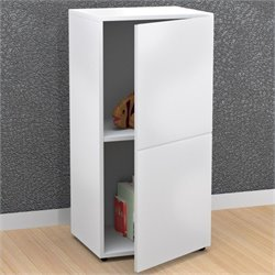 1 Door Storage Module in White