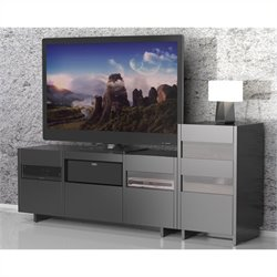 1 Tower Entertainment Center in Black