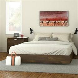 Queen Size Platform Bed