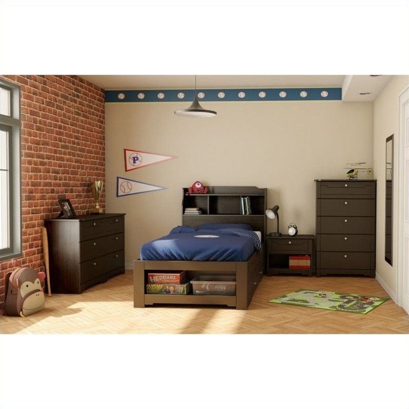 Image Result For Dixon Espresso Twin Storage Bed Image Twin Storage Bed