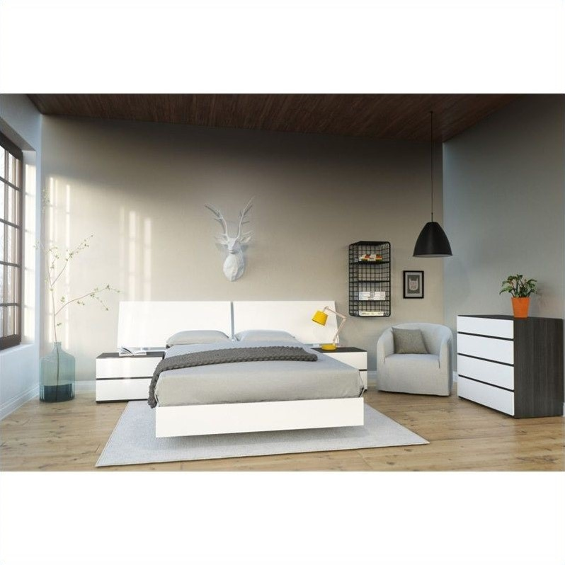 furniture kids bedroom sets 5 piece full bedroom set in white and