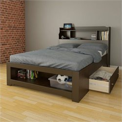 2 Piece Full Bedroom Set in Espresso