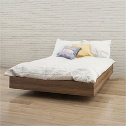 Full Size Platform Bed in Walnut