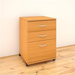 3-Drawer Mobile Filing Cabinet in American Beach