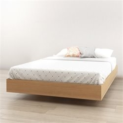 Full Platform Bed in Maple