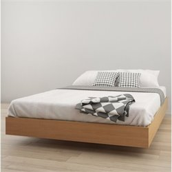 Queen Platform Bed in Maple