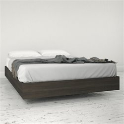 Full Size Platform Bed in Ebony