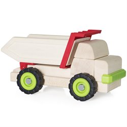 Guidecraft Big Block Dump Truck