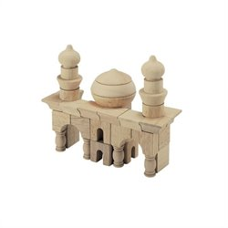 Guidecraft Hardwood Table Top Arabian Block Set