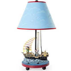 Guidecraft Pirate Table Lamp