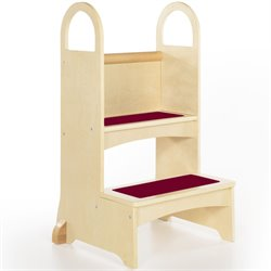 Guidecraft Birch High Rise Step-Up Stool