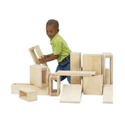 Guidecraft Birch Jr Play Hollow Blocks