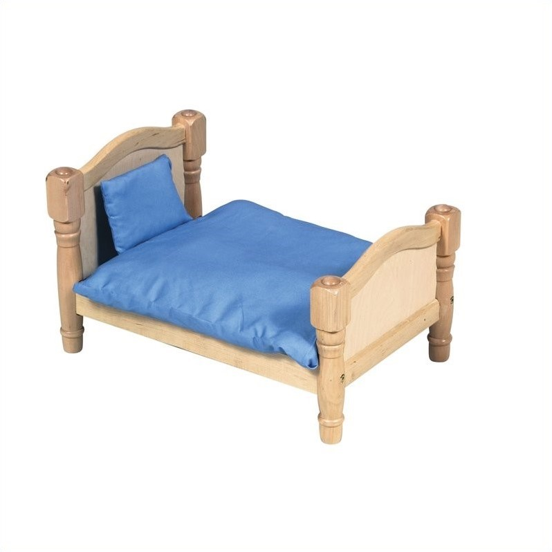 Guidecraft Natural Doll Bed