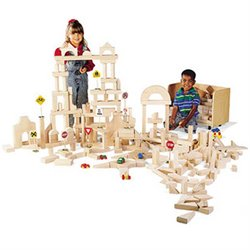 Guidecraft 390 Pieces Classroom Unit Blocks