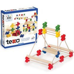 Guidecraft Texo 100 Piece Set