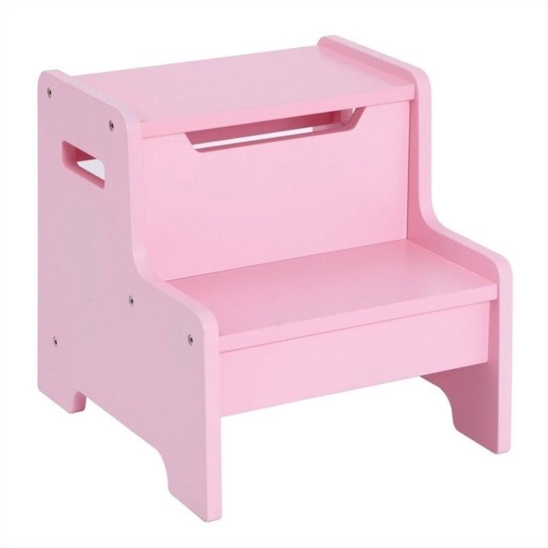 Guidecraft Expressions Step Stool in Pink