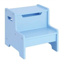 Guidecraft Expressions Step Stool in Light Blue