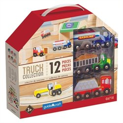 Guidecraft Wooden Truck set