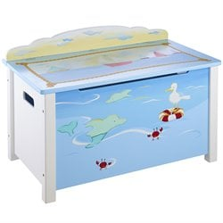 Guidecraft Toy Box in Multi-Color