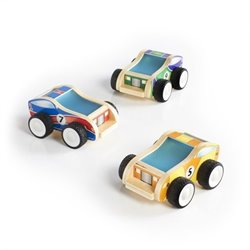 Guidecraft Jr. Plywood Race Cars