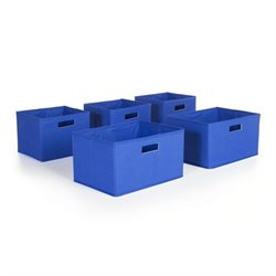 Guidecraft Bins in Blue (Set of 5)