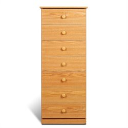 7 Drawer Lingerie Chest in Oak