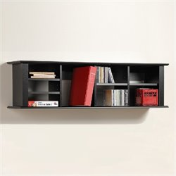 Black Wall Hutch