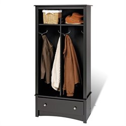 Black Hall Tree Organizer