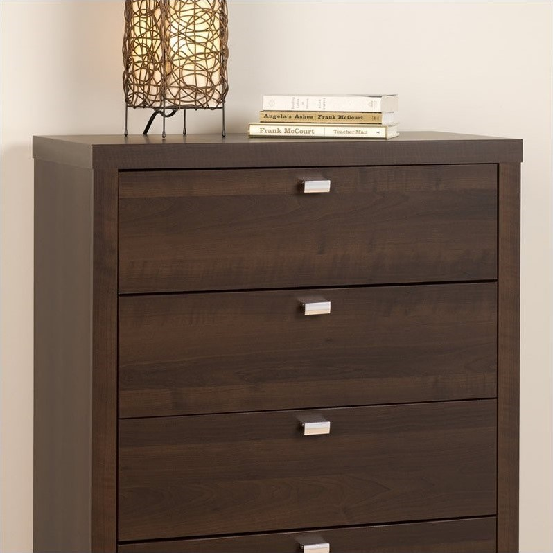 5 Drawer Chest in Espresso