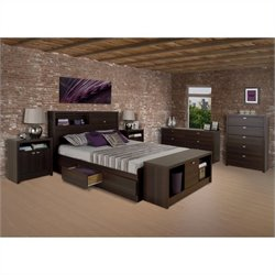 3 Piece Bedroom Set in Espresso