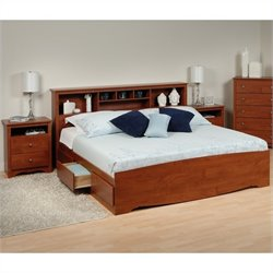 3-Piece King Bedroom Set in Cherry