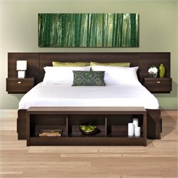 2-Piece Bedroom Set in Espresso