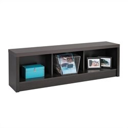 Storage Bench in Black Laminate