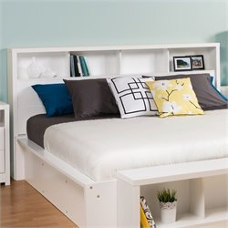 Prepac Calla Panel Headboard in White