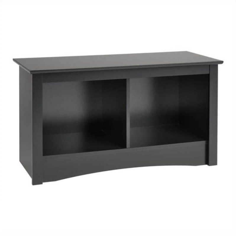 Black Twin Cubby Bench Bsc 3620