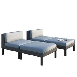 Lounger Patio Set (Set of 4)