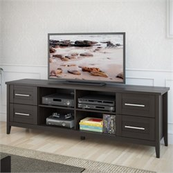 Extra Wide TV Bench in Espresso Finish