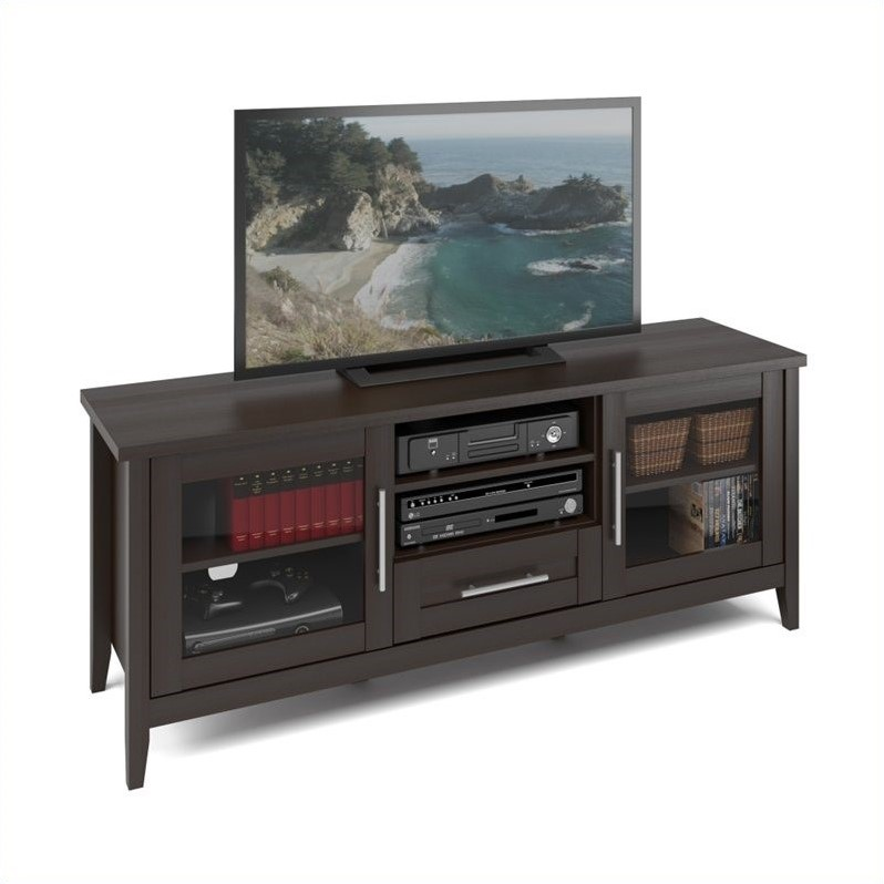 TV Bench in Espresso Finish