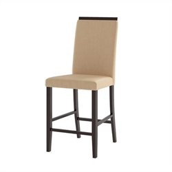 Dining Chairs in Desert Sand Fabric (Set of 2)