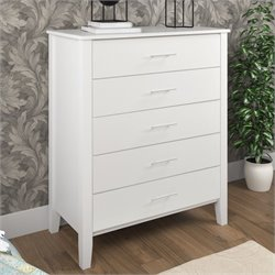 Chest of Drawers in Snow White