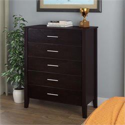 Chest of Drawers in Dark Cappuccino