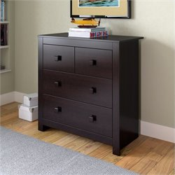 Chest of Drawers in Rich Espresso