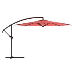 Patio Umbrella in Wine Red