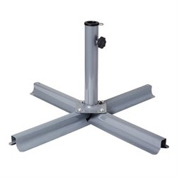 Patio Umbrella Stand in Gray