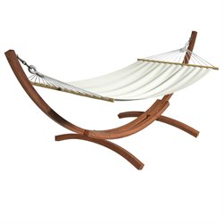 Wood Canyon Patio Hammock in Cinnamon Brown Stain
