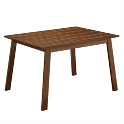 Hagen Dining Table in Rich Walnut