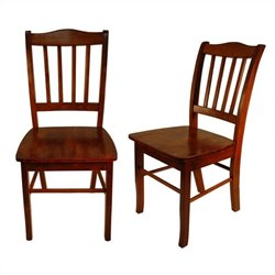 Dining Chair in Walnut (Set of 2)