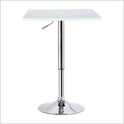 Boraam Luta Pub Table in White